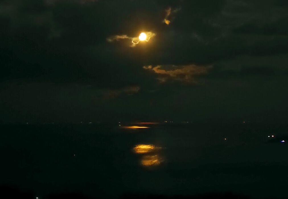バルモラルから見る月光